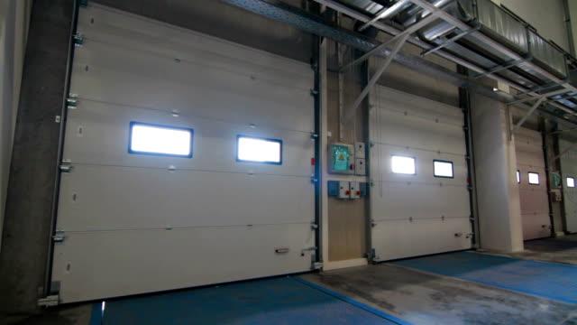 Industrial Modern Warehouse Loading Dock Indoor video