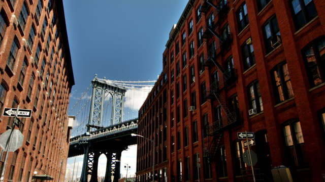 Industrial New York New York. USA black and white architecture stock videos & royalty-free footage