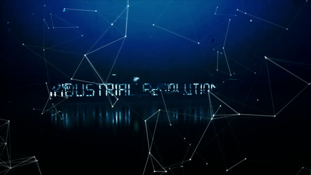rivoluzione industriale 4.0 - rivoluzione industriale video stock e b–roll