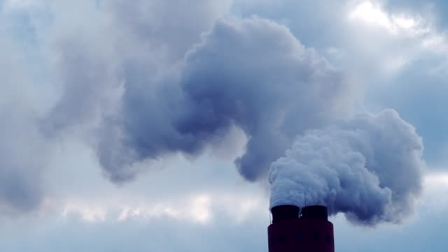Industrial Smoke Smoke from Chimney poisonous stock videos & royalty-free footage