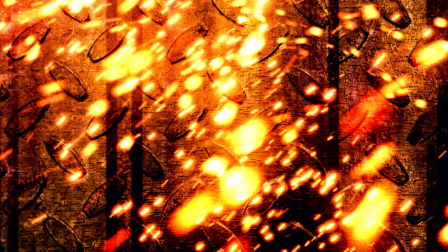 Industrial Sparks 1 Loopable Background video