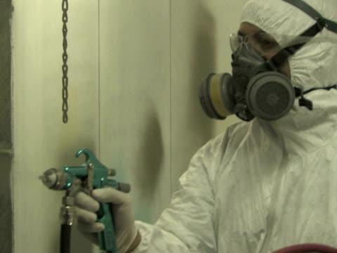 Industrial Spray Painting 2 video