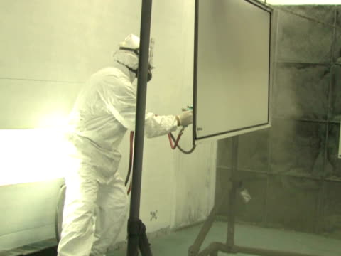 Industrial Spray Painting 4 video
