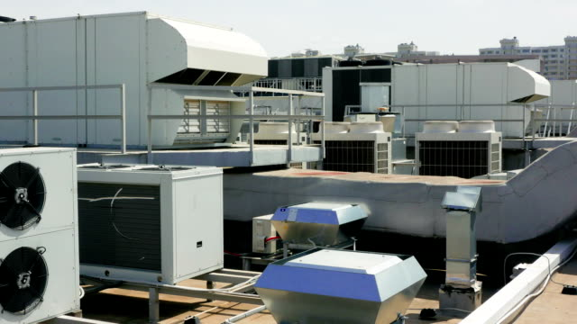 Industrial system of ventilation and conditioning video