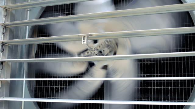 industrial ventilator closeup - ventilation bildbanksvideor och videomaterial från bakom kulisserna