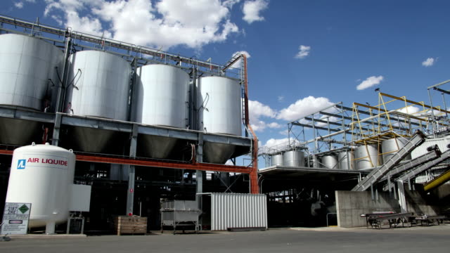 Industrial Winery Timelapse video