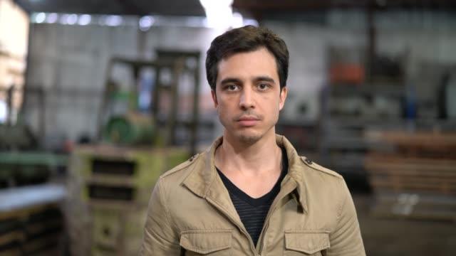 Industrial Worker Owner Portrait