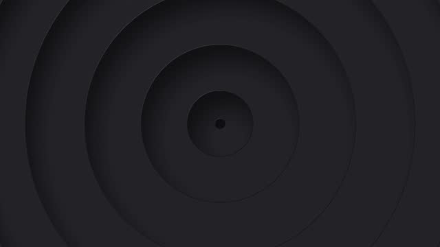 Infinite Circles Loop Animation, Simple Looping Circles Background stock vide