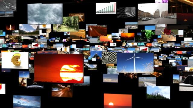 LCD TV Infinite loop. Recursion extravaganza. video