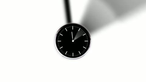 oändlig zoom i timelapse klockor - dag bildbanksvideor och videomaterial från bakom kulisserna