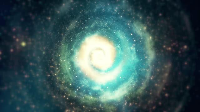 vídeos de stock e filmes b-roll de infinity loopable galaxy space backgrounds - padrão repetido