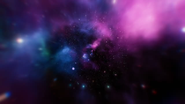 vídeos de stock e filmes b-roll de infinity loopable galaxy space backgrounds - astrologia