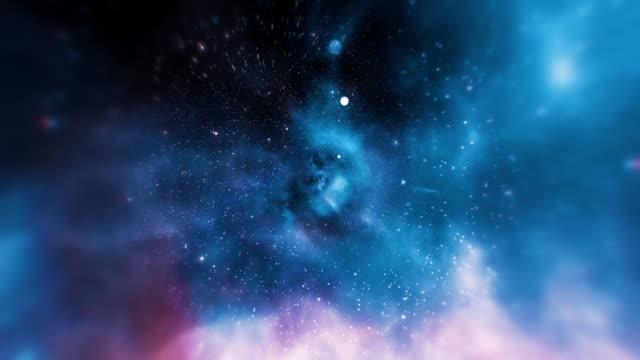 vídeos y material grabado en eventos de stock de fondos de espacio galaxia de infinito loopable - la vía láctea
