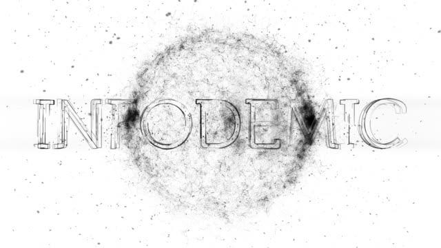Infodemic Title Animation - vídeo