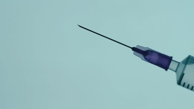 enjeksiyon - doping stok videoları ve detay görüntü çekimi