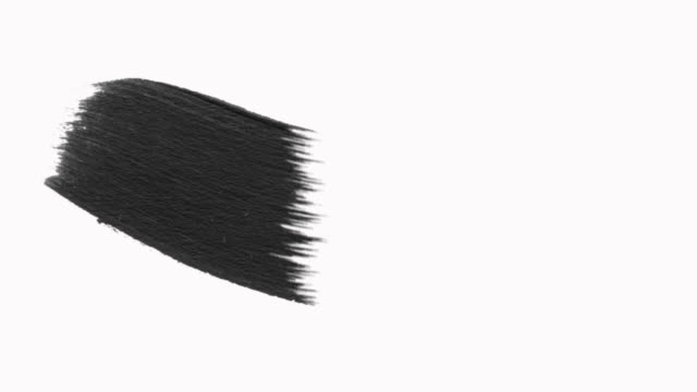 Ink Brush Stroke Set whit Alpha (transparency) channel.