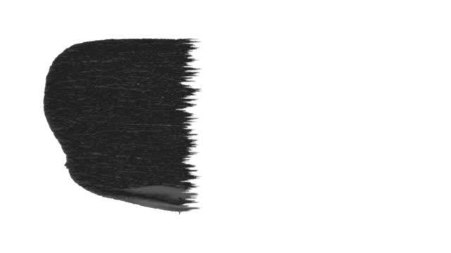 Ink Brush Stroke Set whit Alpha channel (luma matte).
