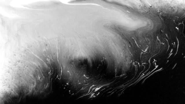 잉크 방울과 뿌려 편집 - abstract art 스톡 비디오 및 b-롤 화면