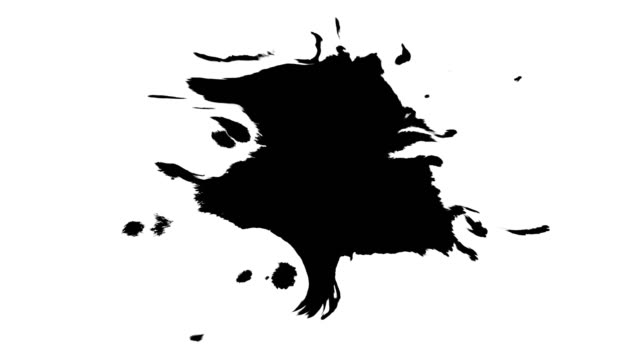 Ink drops on wet paper Black inks drop on wet paper. Black inks and clean white paper. There are no inks on the edge of the paper - all inks are in the  center of the footage. It is easy to use in the video projects. brush stroke stock videos & royalty-free footage