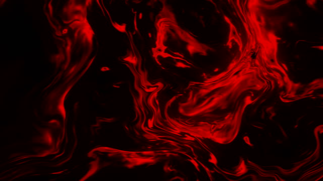 ink fire abstract 4k