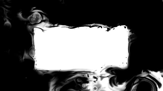 Ink Splash Frame video
