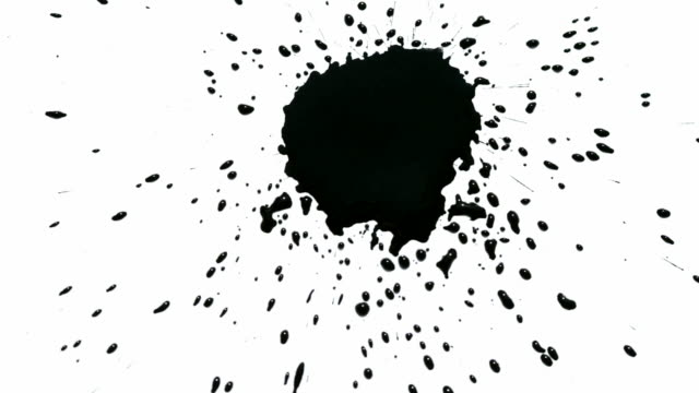 Best Ink Splatter Stock Videos and Royalty-Free Footage - iStock