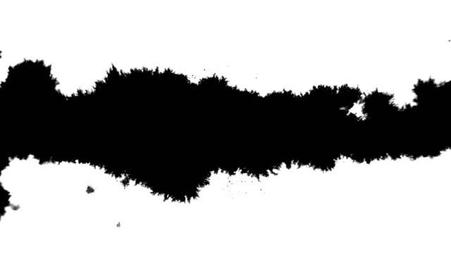 ink splatter line - ink splatter stock videos and b-roll footage