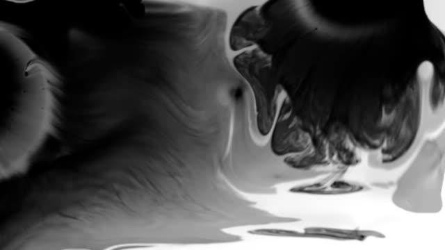 Ink Splatter video