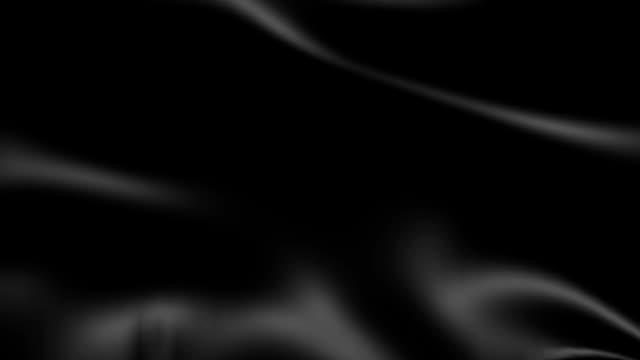 Inky Black Satin Fabric Animated Background video