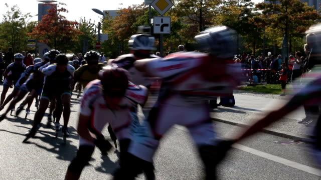 Inline skating video