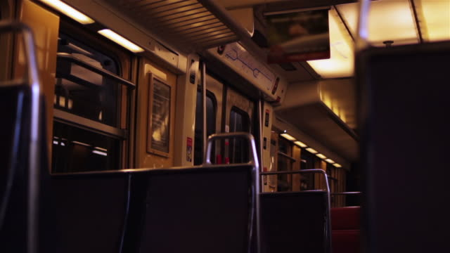 Inside a commuter train video