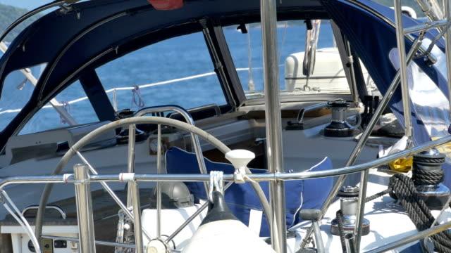 Inside a Modern Sailboat video