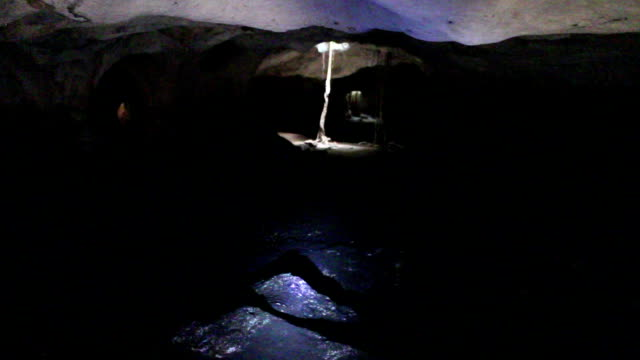 Inside a spooky bat cave video