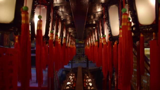 香港の寺院の中 - 仏塔点の映像素材/bロール