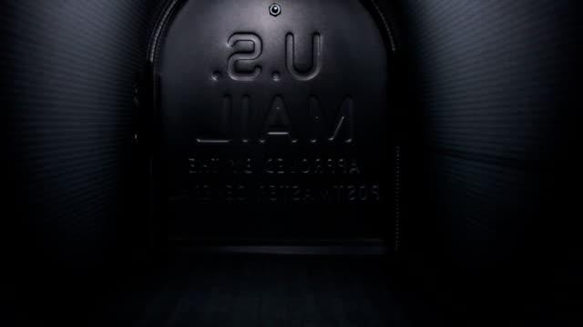Inside an empty mailbox video