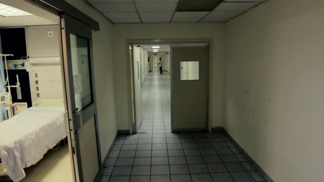 Inside of hospital, hallway video