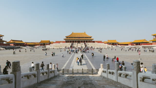 T/L TD Inside the Forbidden City / Beijing, China video