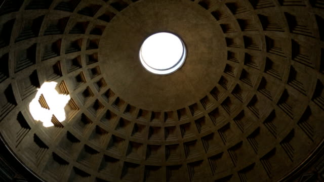 Inside view of Pantheon, Rome, Italy