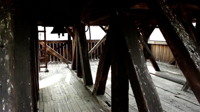 Inside Wooden Bellfry video