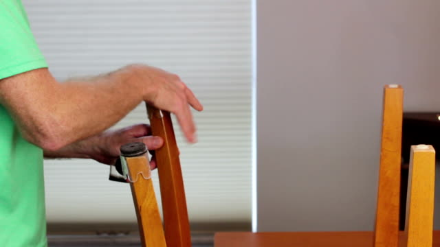 Installing Floor Protection on Chair Bottoms video