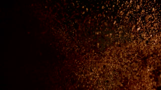 hazır kahve yemek patlama - nebat stok videoları ve detay görüntü çekimi