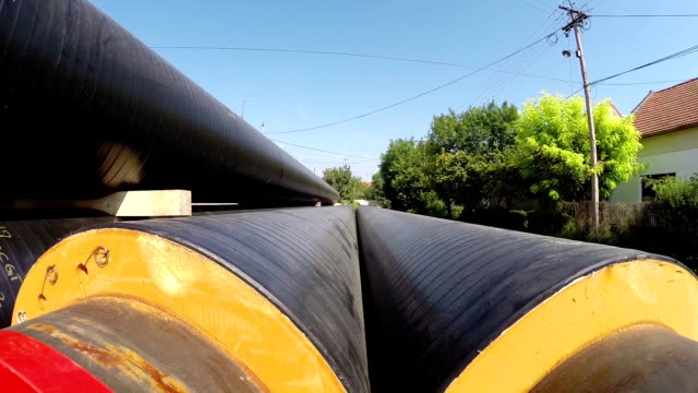 Insulated Underground Pipes for District Heating video