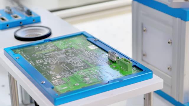des équipements artificiels dans l'usine de modernisation - Vidéo