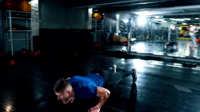 Intense push ups