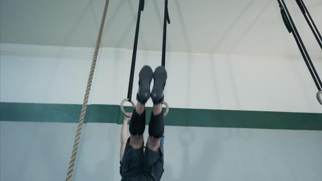 Intense workout. video