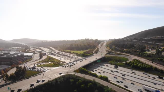 インターチェンジ - 州間高速道路点の映像素材/bロール