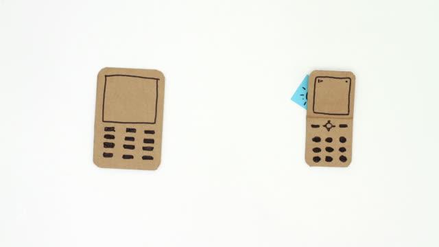 Relié téléphone mobile - Vidéo