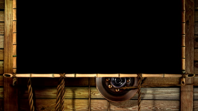 TEMPLATE BAMBOO, 3D Interface - HD Background video