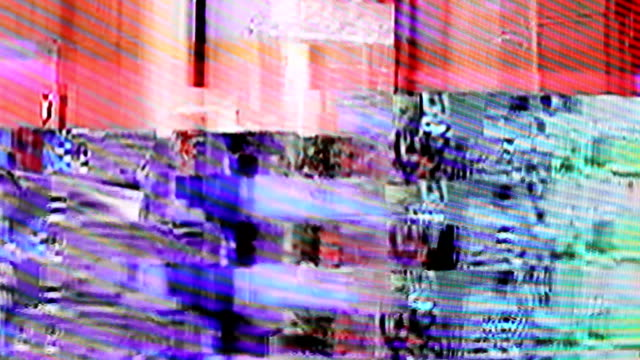 interference on the TV screen video