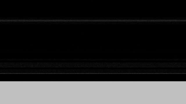 tv interferenze - censura video stock e b–roll